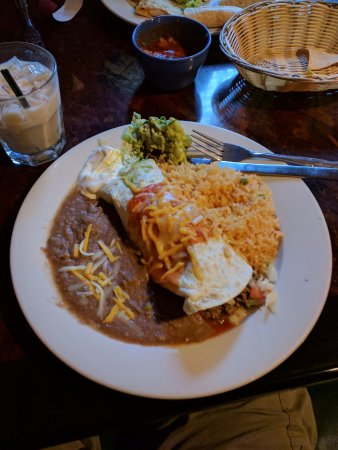 Port Jervis, NY: Bland beef burrito w/rice and beans. No flavor at all. None.