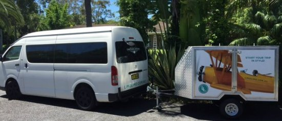 Newcastle, Avustralya: LimoLimo transport to airports, ship terminals great service!!
