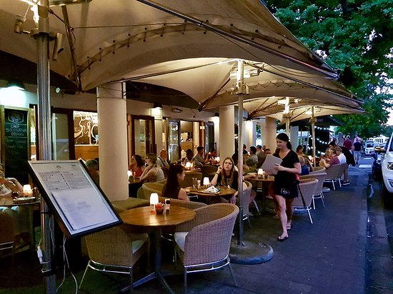 Java Cafe : Our Outside seating