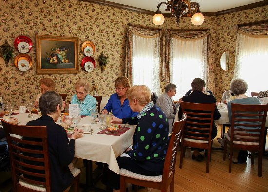 Westby, WI: Group luncheon are most welcome! The restaurant can accommodate groups up to 50.