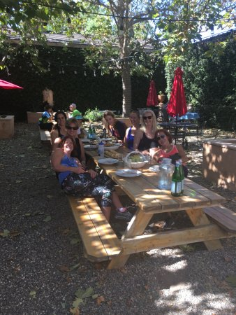 Santa Barbara Wine Country Cycling Tours: Delicious Lunch!!