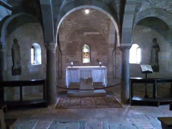 Pennabilli, Italien: cripta
