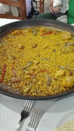 San Javier, Spain: Arroces a la leña riquísimos!!