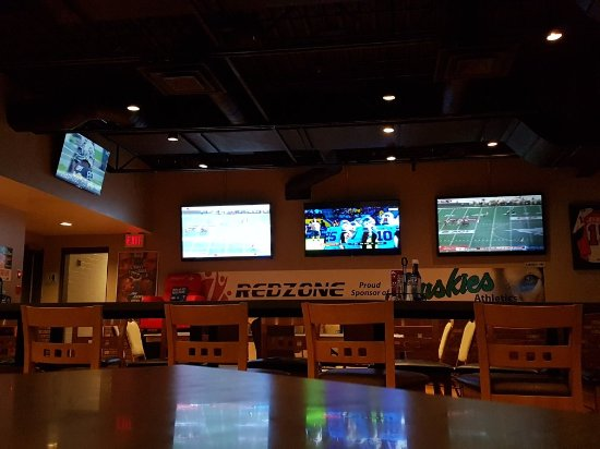tv s at the red zone picture of the red zone premium sports bar saskatoon tripadvisor tripadvisor
