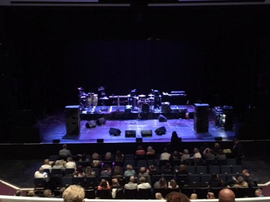 High Wycombe, UK: Pre-show stage - view from the Circle