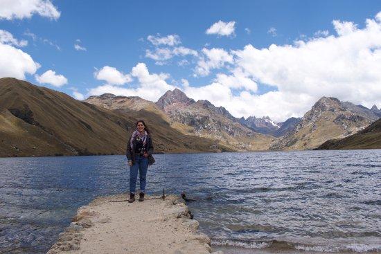 Recuay, Peru: Desde el muelle
