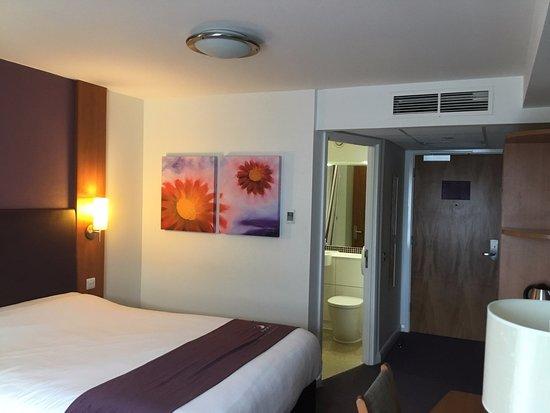 Premier Inn Weymouth Hotel: View Inside My Room
