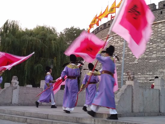 Qufu, Kina: gate closing ceremony