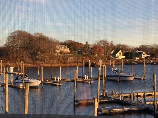 View of the marina, TwoTen Oyster Bar & Grill c 210 Salt Pond Rd, South Kingstown, RI