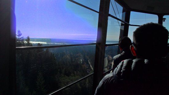 North Vancouver, Canada: Inside the skyride