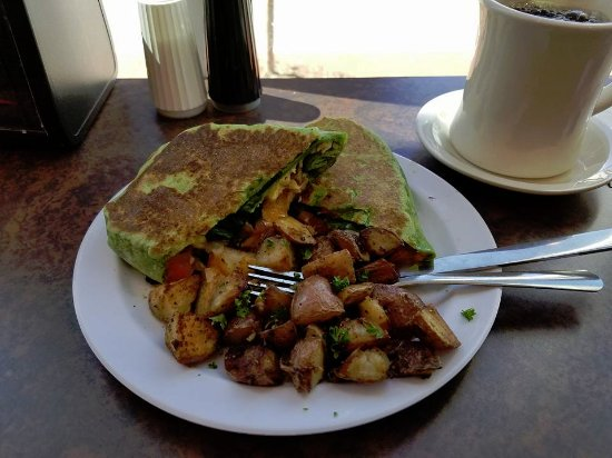 Charleston, Virginia Occidental: The Genesis Breakfast Wrap with Locally Roasted Coffee