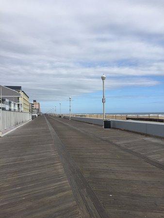 Boardwalk that goes past, Hilton Suites Ocean City Oceanfront  3200 North Baltimore Ave., Ocean