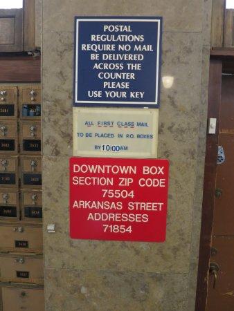 Texarkana, AR: See, a normal boring post office.