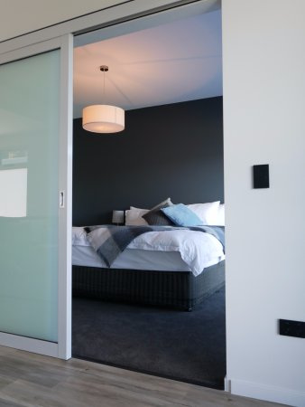 Modern quality stay, great water views.
