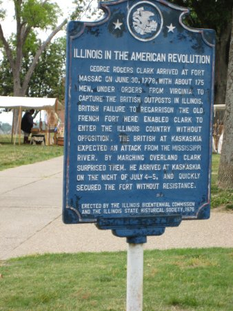 Metropolis, IL: Illinois in the American Revolution (George Rogers Clark)