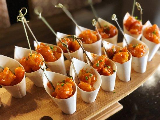 Sylvania, Australia: Canape Popcorn Shrimp
