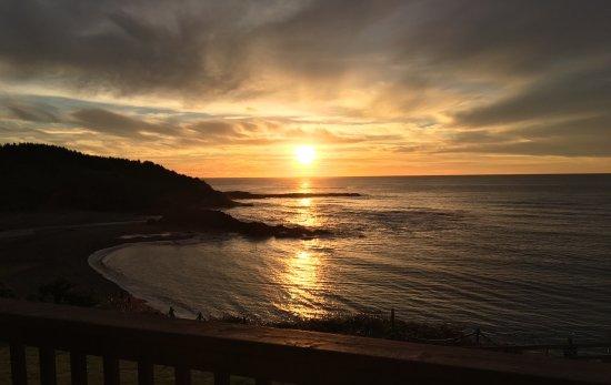 Depoe Bay, OR: Breath taking ocean view from hotel balcony