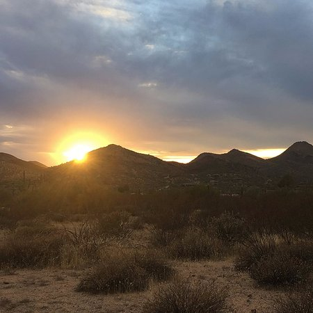 Sunset in Cave Creek, AZ