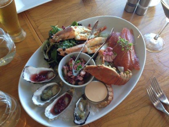 Mosman Park, Austrália: Seafood platter (entree)