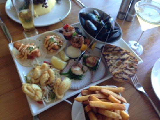Mosman Park, Austrália: Seafood platter (Main)