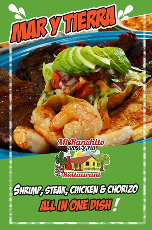 One of the Favorites! Mar y Tierra   Mi Ranchito Bar and Grill - Jacksonville NC