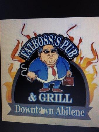 Abilene, TX: sign for pub