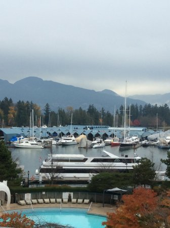 The Westin Bayshore, Vancouver: View from Room 458