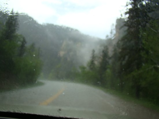‪‪Spearfish Canyon‬: Storm in Spearfish Canyon‬