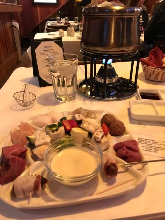 La Fondue Restaurant Delicious Ordered The Works And It Was