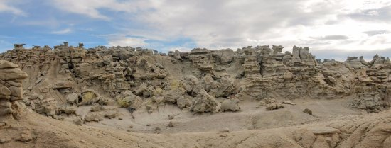 Vernal, UT: Landscape view of Fantasy Canyon