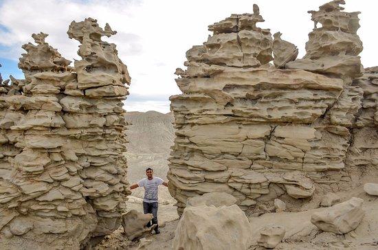 Vernal, UT: Stacked up sandstone rocks