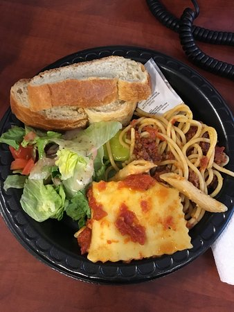 Buca di Beppo: lunch catered