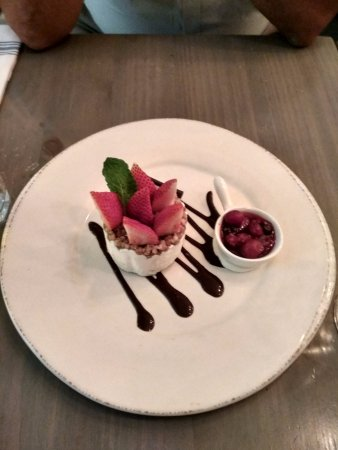 Flatts Village, Islas Bermudas: Cheesecake dessert