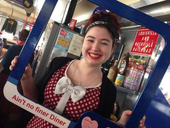 Church Gresley, UK: 50's American Diner