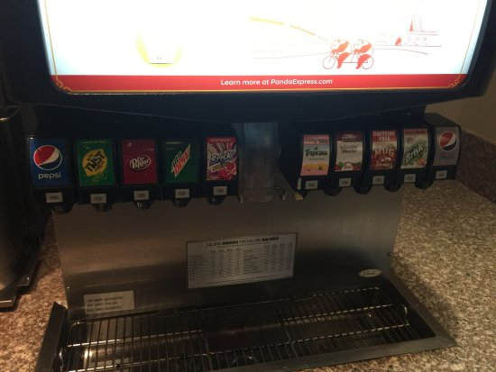 Elk Grove, CA: Beverage choices...
