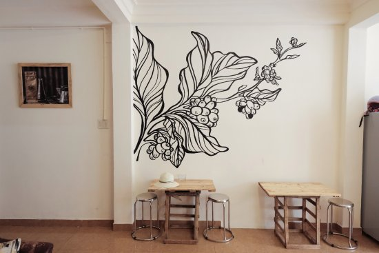 Brew And Breakfast: Coffee Wall Art Mural