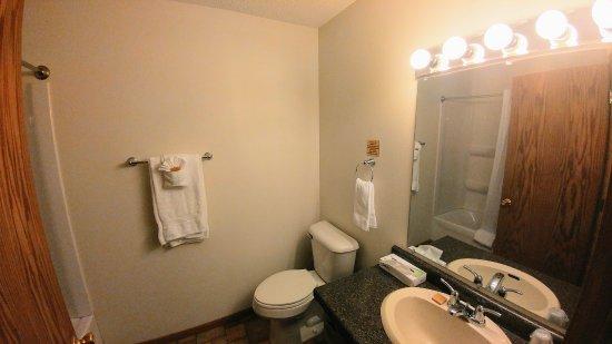 Iowa City, IA: Bathroom in 1 Bedroom Suite