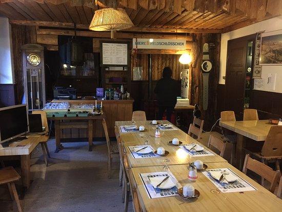 Hotel Mittaghorn : Breakfast area