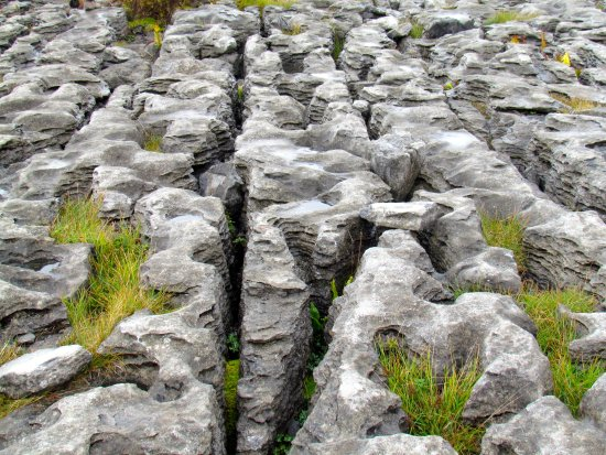 Condado de Clare, Irlanda: Limestone terrain