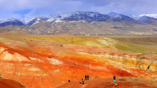 ‪‪Altai Touristic‬: Colored mountains in Altai. Join this place in our tours.‬