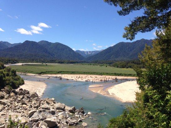 Westport, New Zealand: River Braid Near Mokonui Forks hut