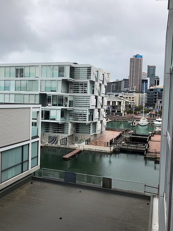 Sofitel Auckland Viaduct Harbour: View From The Balcony