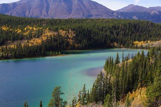Emerald Lake: ごく一部だけエメラルドです。