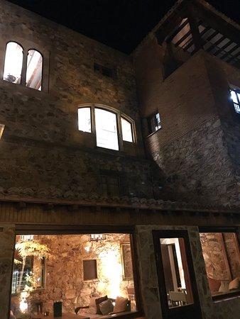 Benavente, Spain: Una saletta del bar
