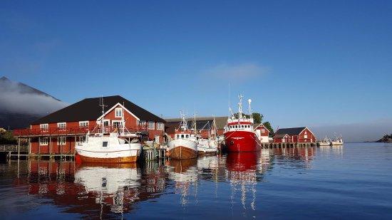 Maren Anna en perle i Sørvågen havn