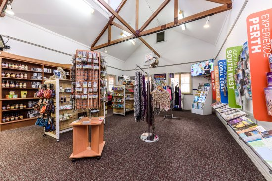 Local souvenirs, craft and art at Perth Hills Armadale Visitor Centre