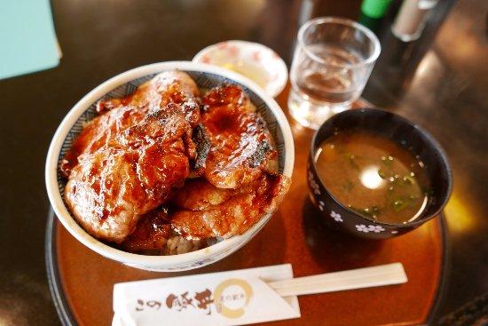 Shiranuka-cho, Japón: この豚丼6枚