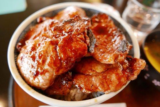 Shiranuka-cho, Japón: 豚丼6枚