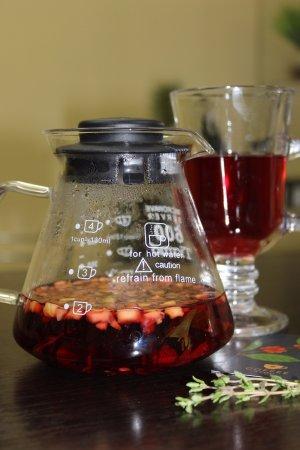 "Lipetsk Oblast, Rusia: Чай  ""Глинтвейн"" (гибискус,яблоки,имбирь,корица,цедра апельсина,бадьян,кардамон, гвоздика)"