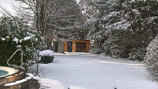 Hausern, Allemagne : Outside Sauna